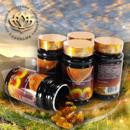 Экомасло шафрана (конъюгированная линолевая кислота) в мягких капсулах